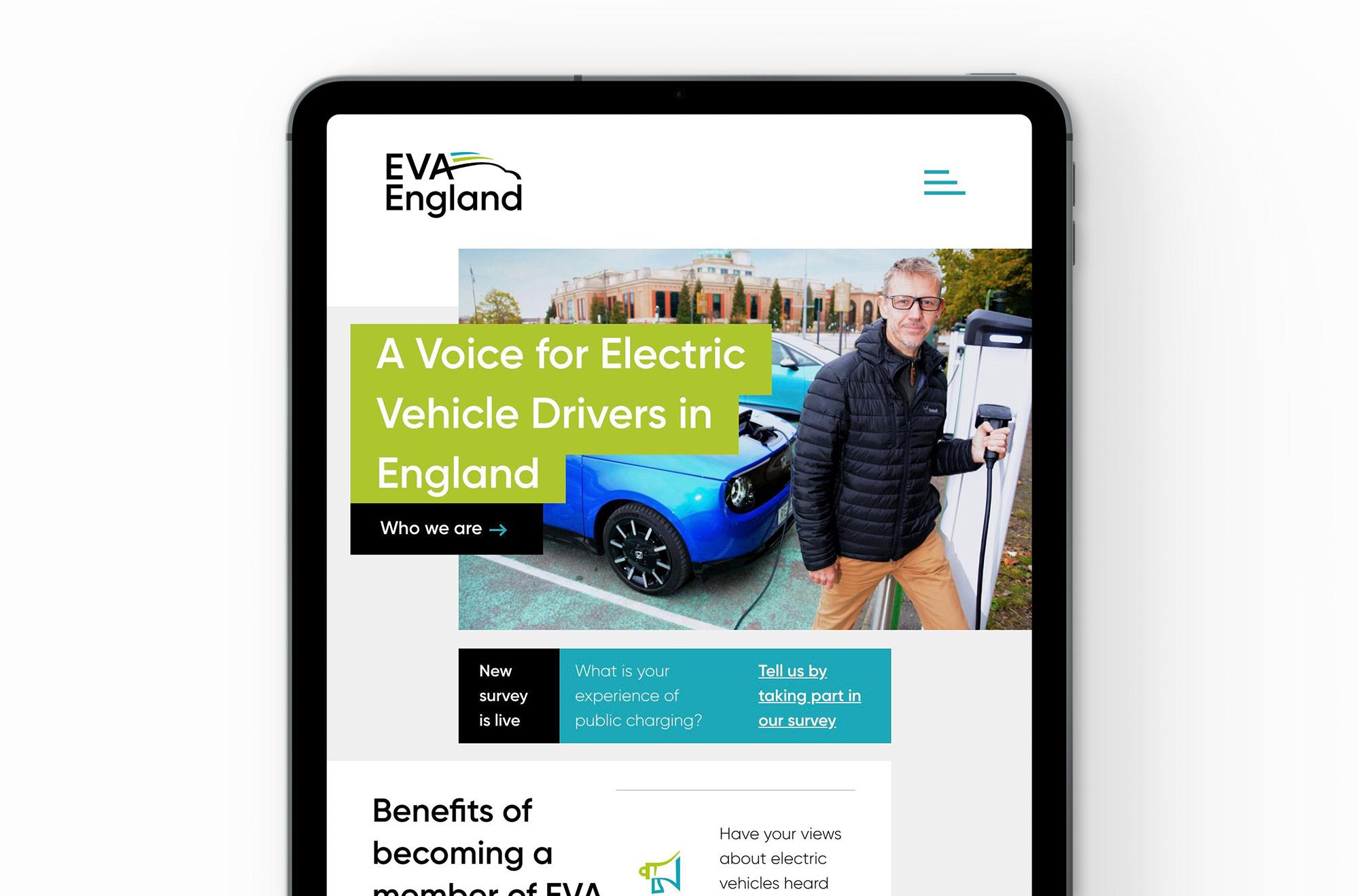 EVA England Website